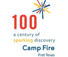 Camp Fire 100th logo
