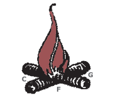 1915 Camp Fire Logo