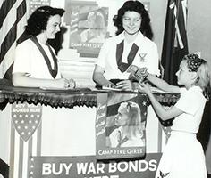 1944 war bonds sales