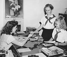 1945 donut sale
