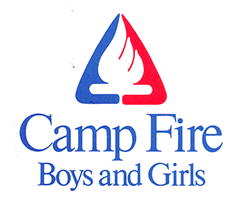 1983 camp fire logo