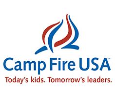 2001 Camp Fire logo