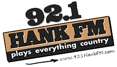 92.1 Hank FM logo