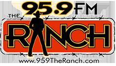 95.9 the ranch logo