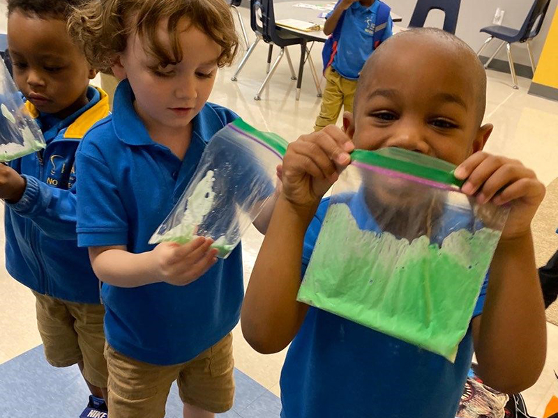 IDEA Edgecliff kids with slime