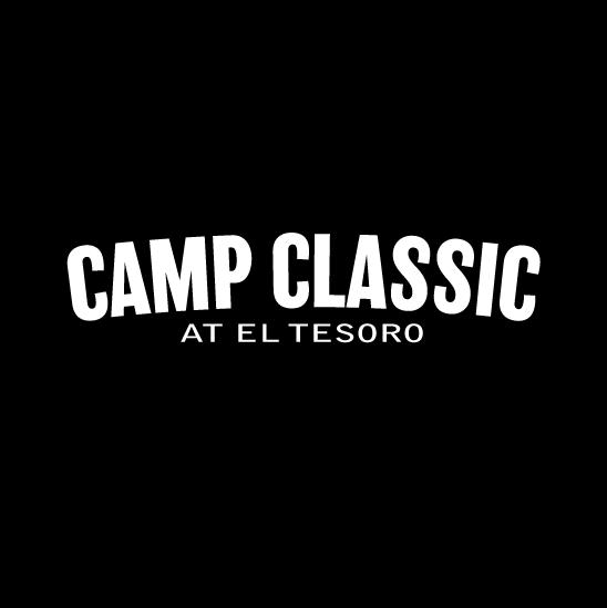 camp classic black logo