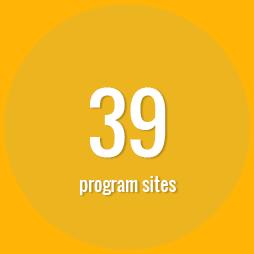 39 program sites