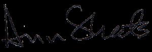 Ann Sheets signature
