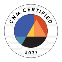 CNM Certified badge